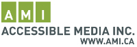 Accessible Media Inc. logo