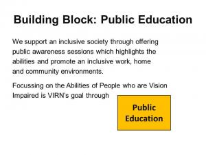 Graphic of Public Education Presentation Slide